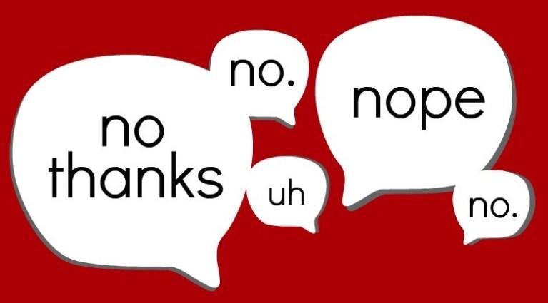 نه گفتن را یاد بگیر